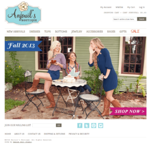 Anjouil's Boutique Magento