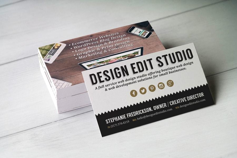 DES-business-card-wood | Boutique Web Design | Blog designs ...