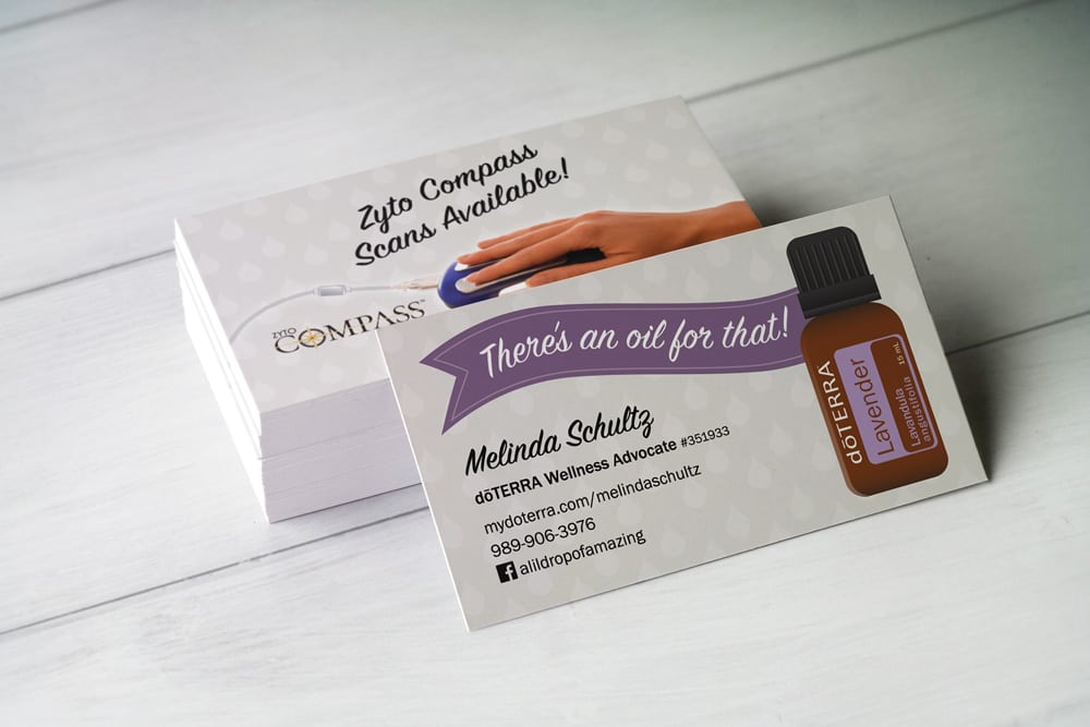 Business Cards Doterra Choice Image Business Card Template