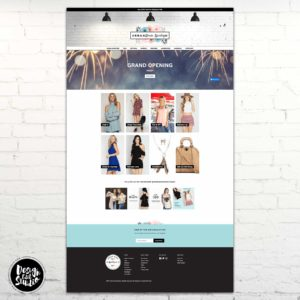 Urban Dixie Boutique Custom Shopify Design