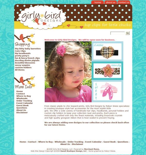 Girly-Bird-Designs | Boutique Web Design | Blog designs | Consulting ...