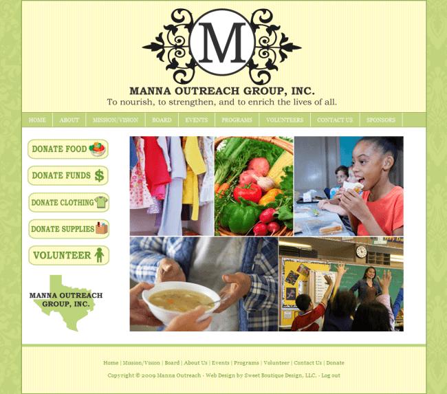 manna | Boutique Web Design | Blog designs | Consulting | Design ...