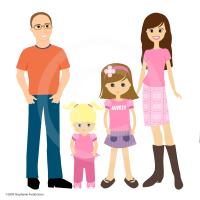 Family Illustration by Stephanie Fredrickson